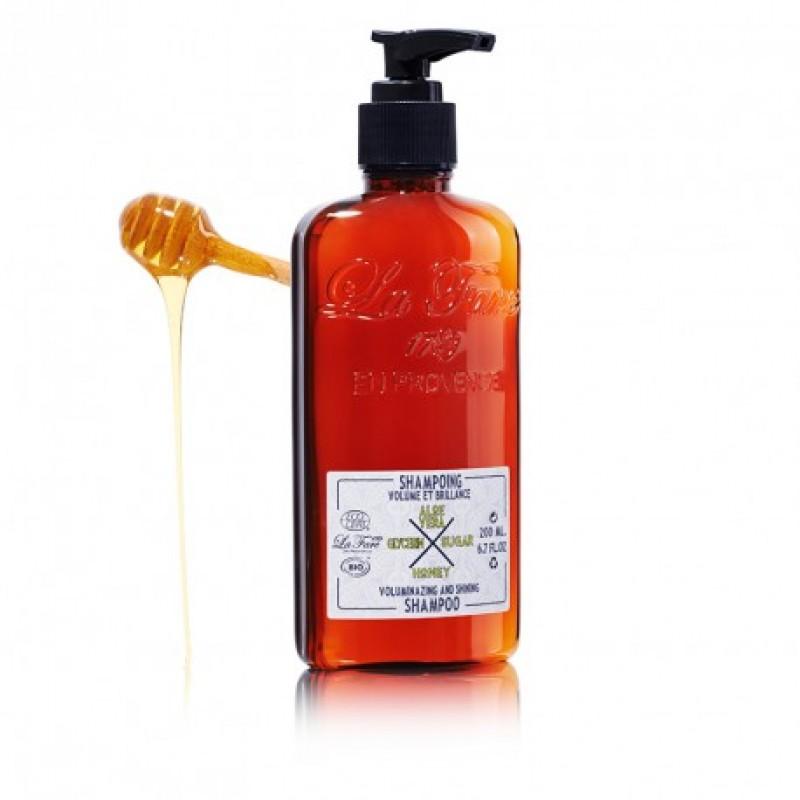 Šampon za volumen in sijoče lase